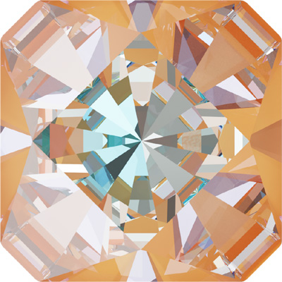 4499 20mm CELD - Swarovski kaleidoscope square fancy stone - crystal lacquer pro delite effects