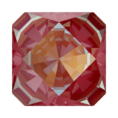 4499 14mm CELD N - Swarovski kaleidoscope square fancy stone - crystal lacquer pro delite effects