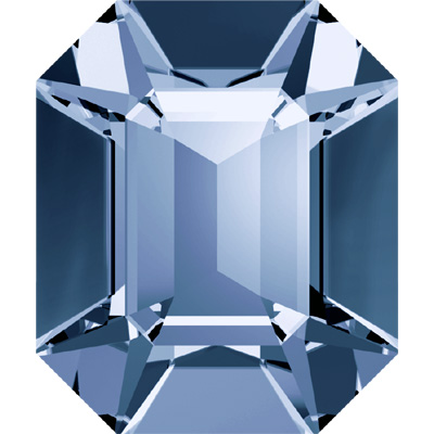 4600 8x6mm PLAIN - Swarovski octagon fancy stone - plain colours