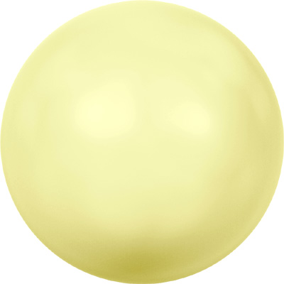 crystal pastel yellow pearl