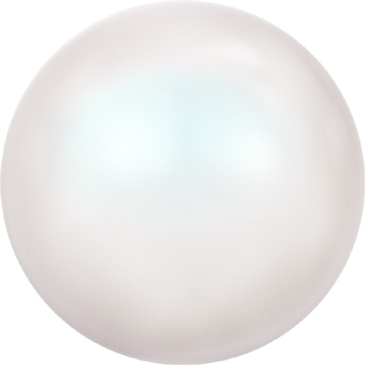 crystal pearlescent white