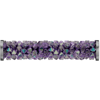 Light amethyst paradise shine/stainless steel