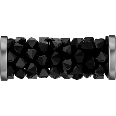 5950 15mm PL/088 - Swarovski fine rocks tube with ending - plain colours/stainless steel ends