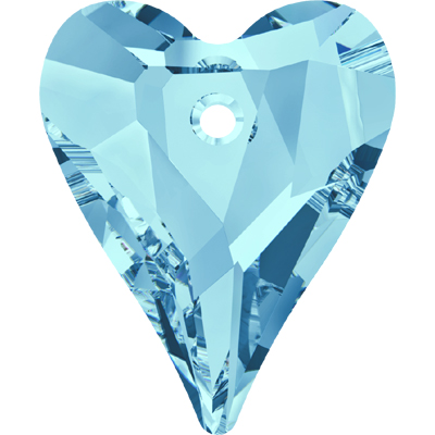 6240 27mm PLAIN - Swarovski wild heart pendant - plain colours