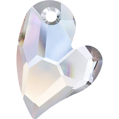 6261 36mm CET - Swarovski devoted 2 U heart pendant - crystal transparent colours