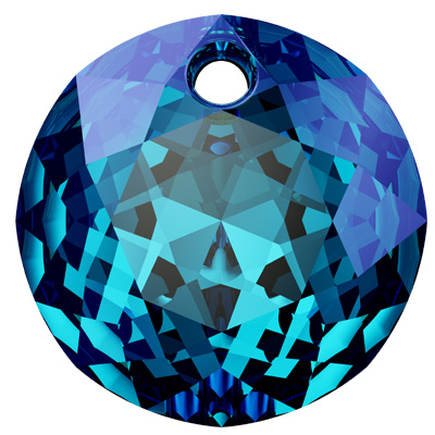 6430 10mm CETT - Swarovski classic cut pendant - crystal transparent colours