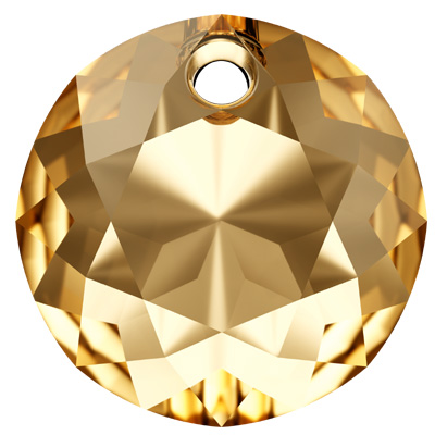 6430 8mm CET Swarovski classic cut pendant - crystal transparent effects