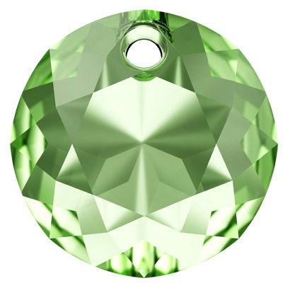 6430 10mm PLAIN - Swarovski classic cut pendant - plain colours