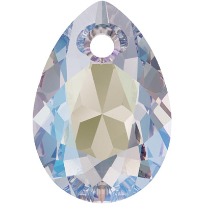 6433 11.5mm 001 SH Swarovski pear cut pendant - crystal shimmer