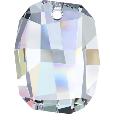 6685 19mm CET - Swarovski graphic pendant  - crystal transparent effects