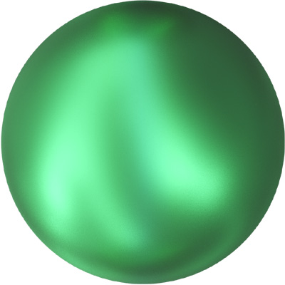 5810 5mm COLS 001 2014 Swarovski 5mm crystal pearls - crystal Eden green pearl