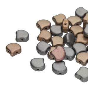 GBGNK-230 Ginko Beads - crystal grey rainbow