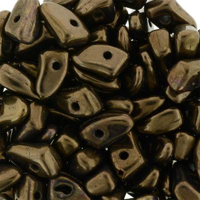 GBPR-271 Prong beads - Dark bronze