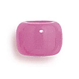 PB6 S - pony beads opaque - single colours