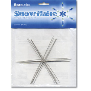 S236 Snowflake Ornament Wire Forms