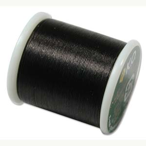 KOT BLK Black K O beading thread