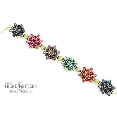 CMP2-STARFLOWER - Starflower Bracelet Pattern