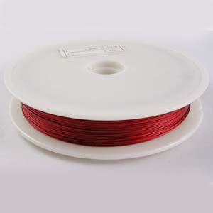 TT2-R tiger tail - red - 50m reel