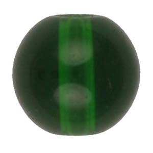 GB242T round pressed transparent glass beads