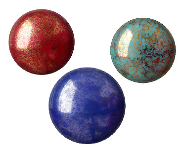 Super Category Czech Glass Cabochons - Cabochons par Puca