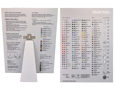Super Category SWAROVSKI Crystal Colour Charts
