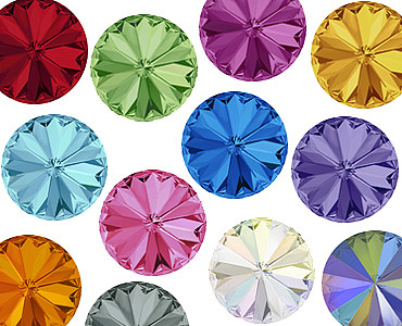 Super Category Swarovski Round Stones