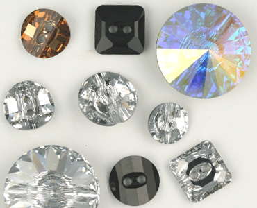 Super Category Swarovski Crystal Buttons